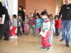 Knesset. Children visiting the house