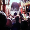 Bethlehem, Orthodox Catholic Mass in the grotto of the Nativity