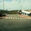 Checkpoint between Israel and the West Bank